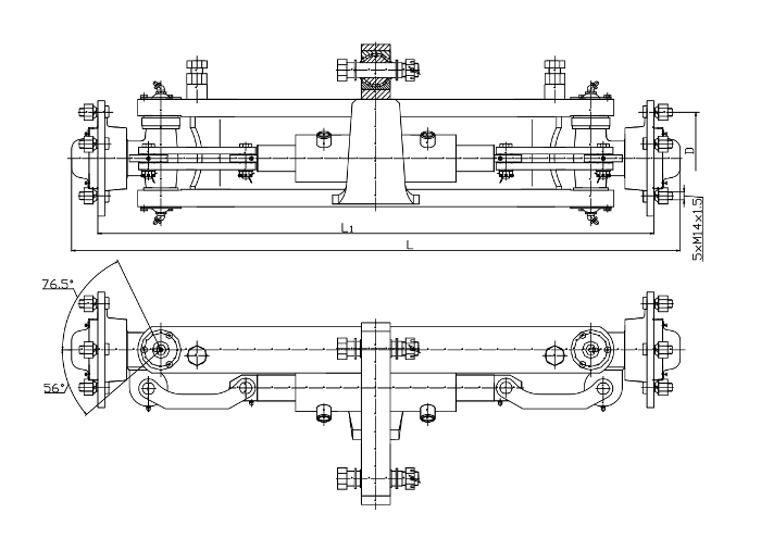 Axle Load Limits : Steering axle  Балканкар Руен